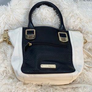 Black and white Steve Madden bag